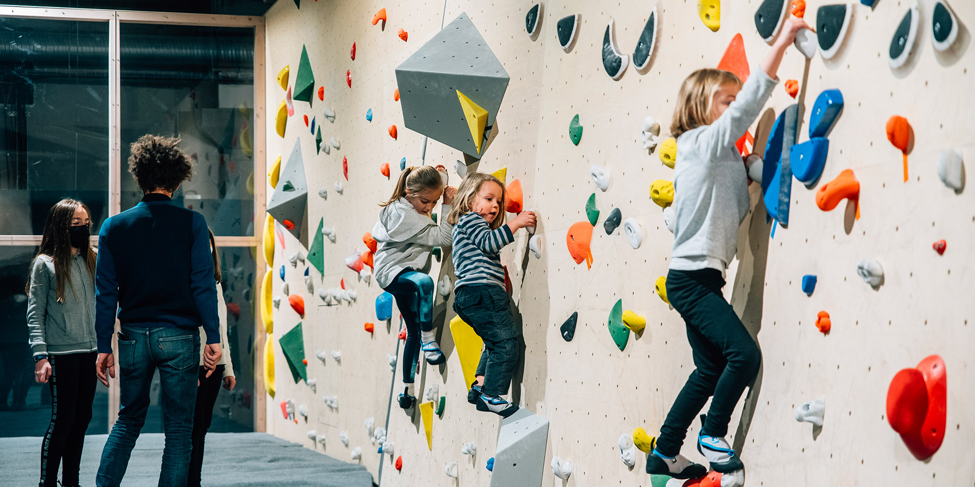 Cours enfants - Climbing District