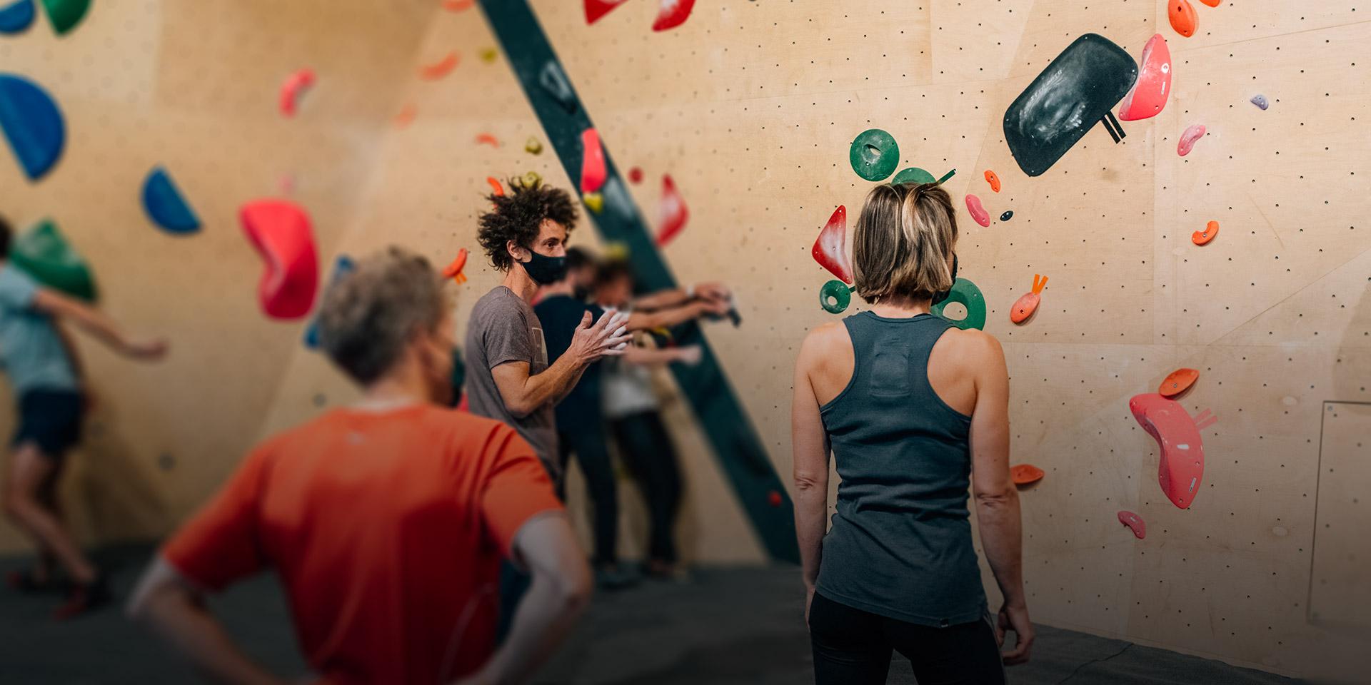 Cours d'escalade à Paris - Climbing District