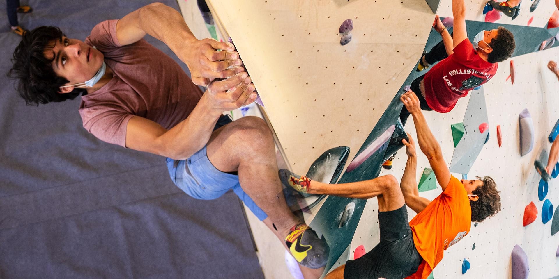 La communauté grimpe et escalade - Climbing District