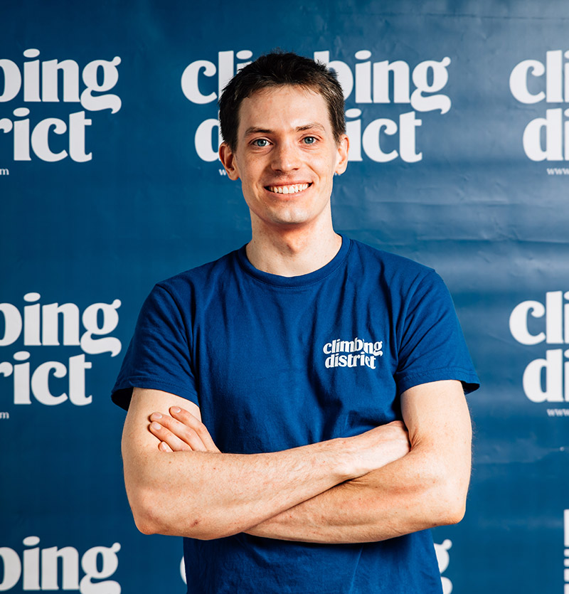 Elie - Chef Ouvreur - Climbing District