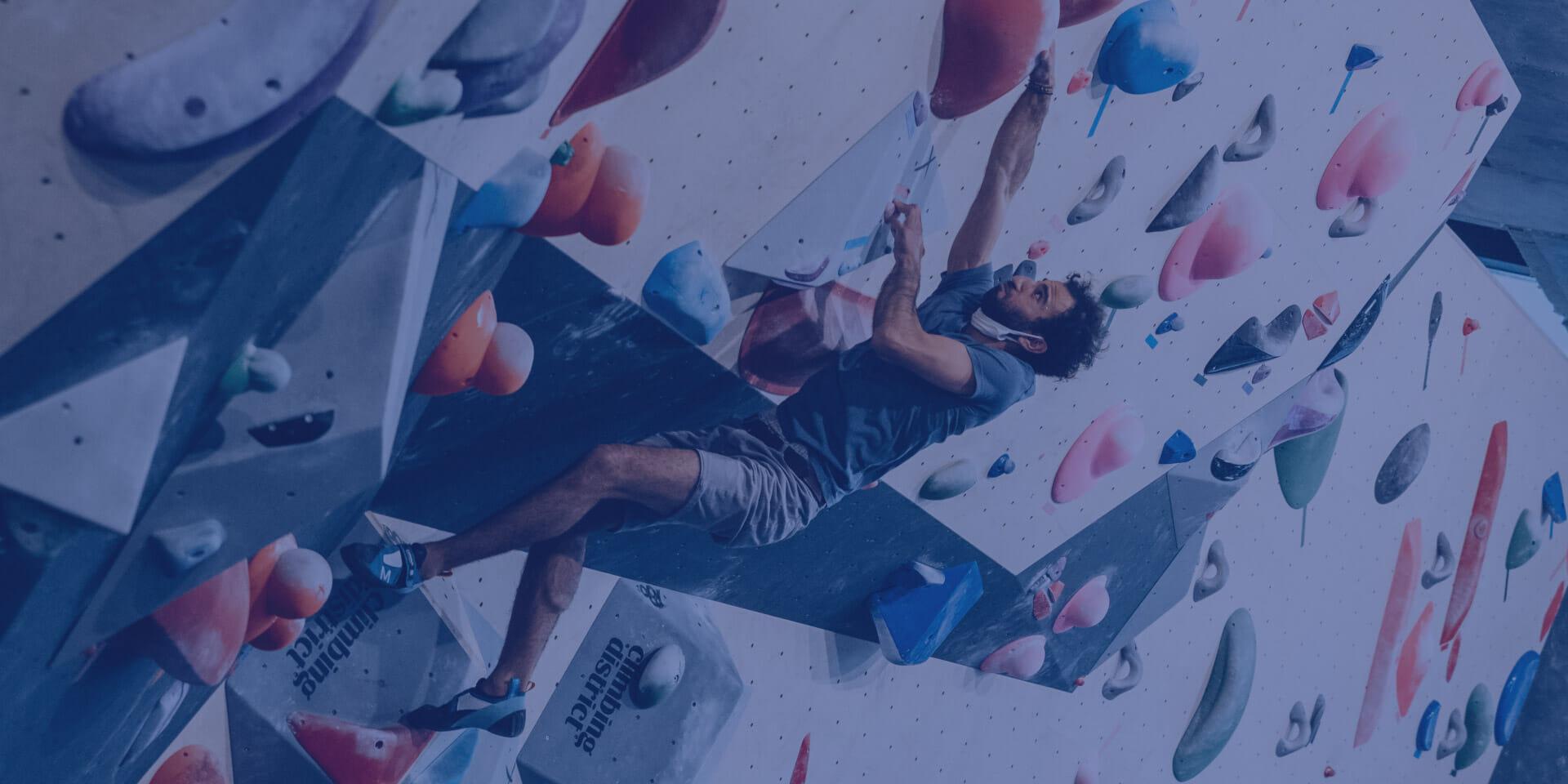 Nouvelle salle d'escalade Climbing District 55, rue de Meaux Paris 19e